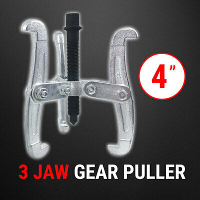 """Bearing Gear Puller 3 Jaw 4"""", Remover Drop Forged Reversible Jaws"""