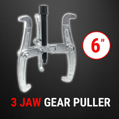 "Bearing Gear Puller 3 Jaw 6"", Remover Drop Forged Reversible Jaws"