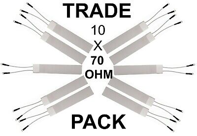 GHD 70 Ohm Heater Element Compatible Replacement Ceramic Heater Trade Packs X 10
