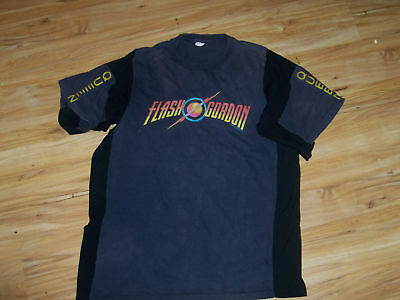 Super Rare 1980 Queen Flash Gordon Concert Promo Shirt