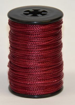 BCY RED Nock POINT AND PEEP  TYING THREAD, 100% NYLON