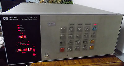 HP 3497 A Data Acquisition Control Unit Hewlett Packard Electronic Test Equip