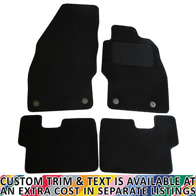 Vauxhall Corsa MK IV 2007-2014 Fully Tailored 4 Piece Car Mat Set with 4 Clips