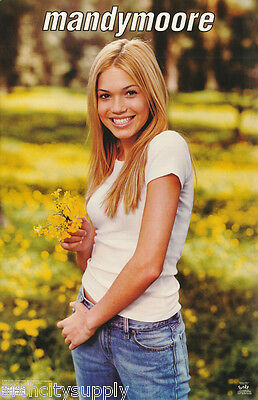 Poster : Music : Mandy Moore - T-Shirt -  Free Shipping !     #3481       Lp32 E