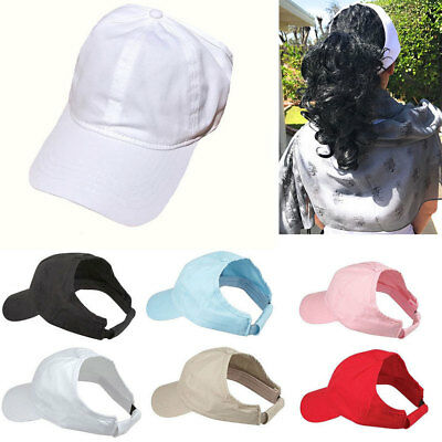 1 Dozen New Womens Pony Tail Caps Cap Hats Hat Low Crown wholesale lot