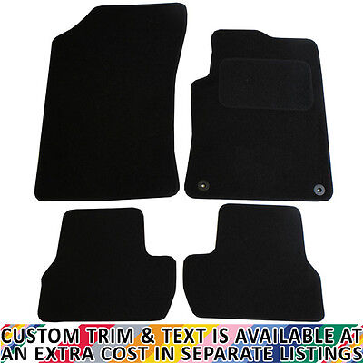 Citroen C3 MK II 2010+ Fully Tailored 4 Piece Car Mat Set with 2 Clips