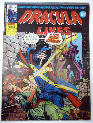 dracula lives 18 gene colan marvel uk