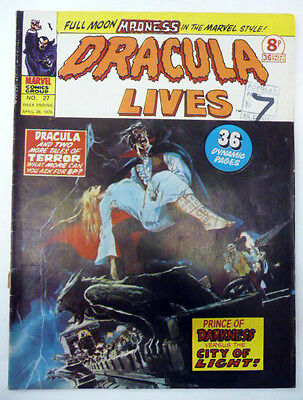 dracula lives 27  alfonso font marvel uk