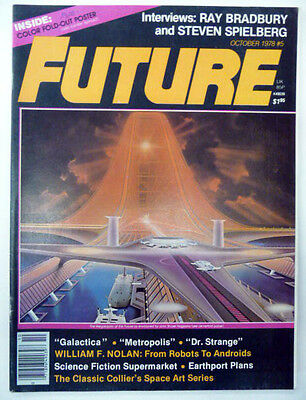 future october 1978 #5 interviews bradbury & spielberg