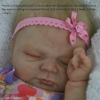 REBORN DOLL, IVY BY ELISA MARX, VINYL KIT - NEW