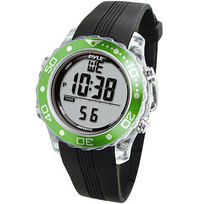 New PSNKW30GN Green Snorkeling Master Watch w/ Dive, Depth, Temp Records