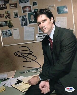 Thomas Gibson SIGNED 8x10 Photo Aaron Criminal Minds PSA/DNA AUTOGRAPHED