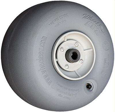 """Wheeleez 30cm (11.8"""") Grey Wheels - soft pneumatic tire for sand or soft surface"""