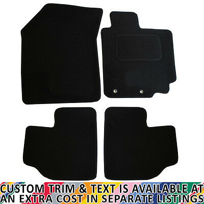 For Suzuki Swift Sport MK3 2012-2017 Fully Tailored 4 Piece Car Mat Set