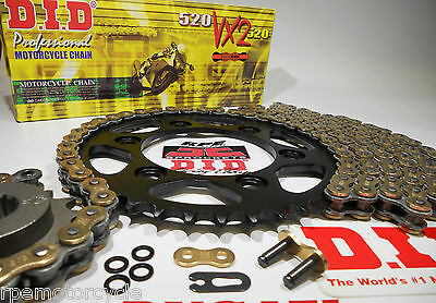SUZUKI GSXR600 '04/05 DID GOLD X-Ring QUICK ACCELERATION CHAIN AND SPROCKETS KIT