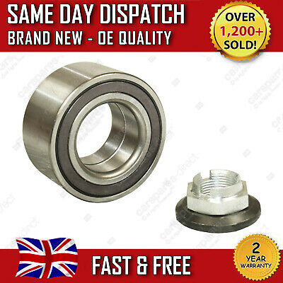 FORD MONDEO Mk3 FRONT WHEEL BEARING KIT+NUT 2000 2007 W/ABS 1.8 2.0 2.2 2.5 3.0