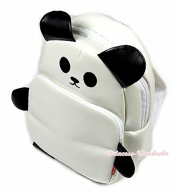 Black and White Big Eye Little Panda Backpack Rucksack School Bag For Kids