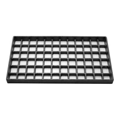 BOTTOM GRATE fits Char Broiler Coal 8x15 cast iron Jade Imperial others 241046