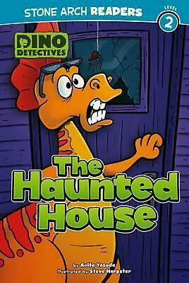 Dino Detectives: The Haunted House by Anita Yasuda (English) Library Binding Boo