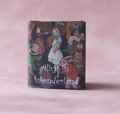Dollshouse Miniature Book - Alice in Wonderland