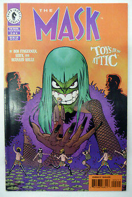 the mask toys in the attic 2 of 4   dark horse comics