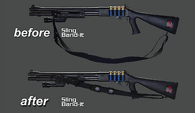 Sling Band-It Rifle and Shotgun Sling Management and Control