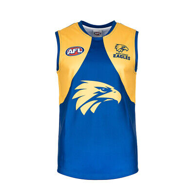 AFL West Coast Eagles Kids Boys Youths Footy Football Jumper Guernsey Jersey