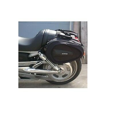 Ogio Motorcycle Saddlebags - Perfect for Harley V-Rod V Rod Sportsters Big Twin