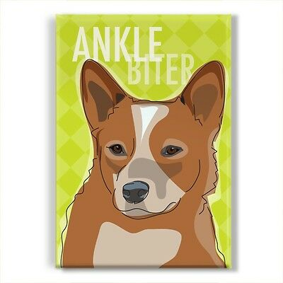 ACD Red Heeler Gifts Cattle Dogs Funny Refrigerator Magnets - Ankle Biter