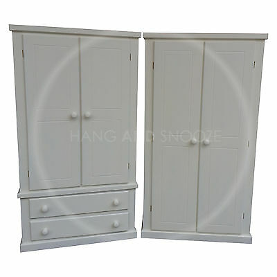 Hand Made Dewsbury Furniture Wardrobe Set Ivory( Assembled)