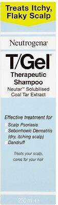 Neutrogena T/Gel Therapeutic Shampoo (250ml) **DRY, FLAKY SCALP & DANDRUFF**