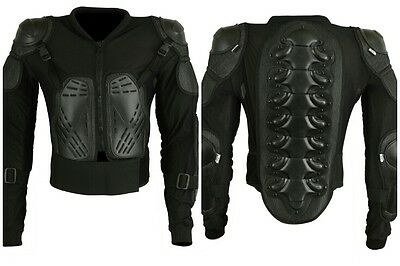 Motocross Motorcycle Motorbike Body Armour spine Protector Guard Bionic Jacket