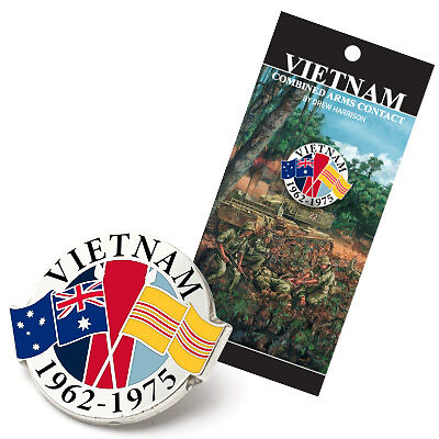 Lapel Pin - Vietnam Veterans Combined Arms Contact 1969 -  New