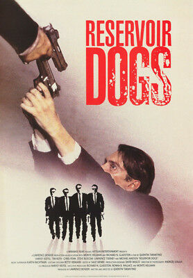 Poster : Movie Repro:   Reservoir Dogs   - 2 Guns - Free Shipping !  Rc52 J