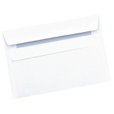 Q-Connect C6 Envelope 90gsm Self Seal White (Pack of 1000) 7042