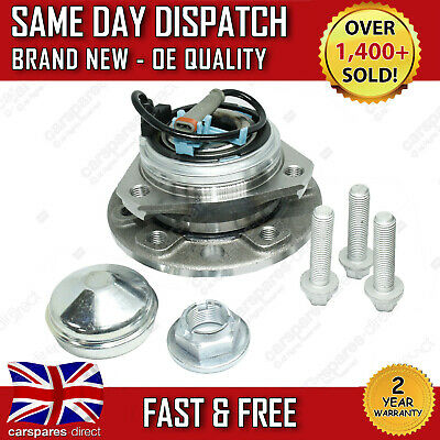 FRONT WHEEL BEARING VAUXHALL ASTRA H Mk 5 + HUB 5 STUD 2 YEAR WARRANTY 2004>on