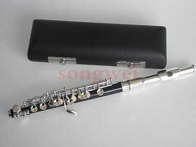 Advanced piccolo c key silver plated nice sound