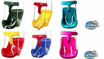 HALF PRICE Baby Toddler Deluxe Swing Seat Climbing frame set Tree OVER 3500 SOLD