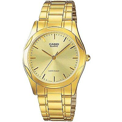 Casio Unisex Gold Tone Analog Watch Mtp1275G-9A