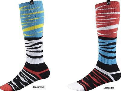 Fox Racing FRI Thick Forzaken Performance Riding Socks For MX Motocross Adult