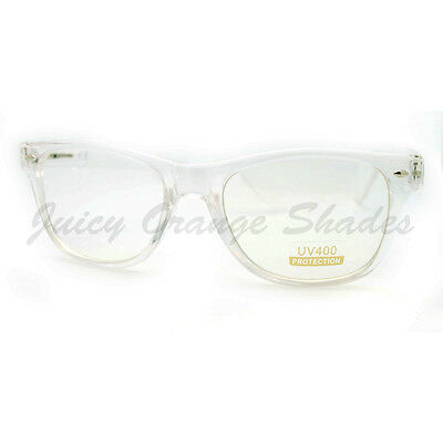 Clear Frame Clear Lens Eyeglasses Classic Square Fashion Glasses
