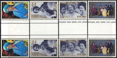 2006 Zambia Queen Mother Stamp S29
