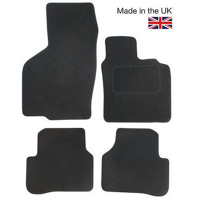 For British Leyland Classic Mini Fully Tailored 4 Piece Black Car Mat Set
