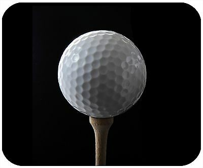 Mouse Pad Custom Personalized Thick Mousepad-Golf Ball - Add Any Text Free