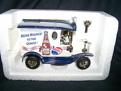Die Cast Pepsi Cola Truck Bank- Still in Packaging
