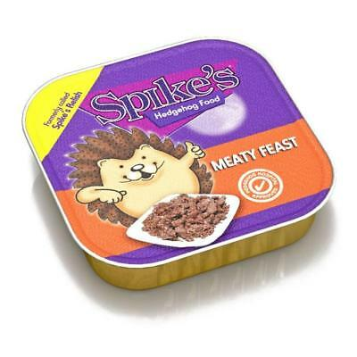 Spikes Meaty Feast Wet Hedgehog Food Meat Trays 100g Choose From  2, 5 or 17