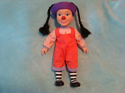 "Big Comfy Couch Loonette 15"" Doll Plush & Vinyl 1997"