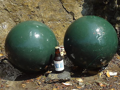 Large Cast Iron Globe Finials