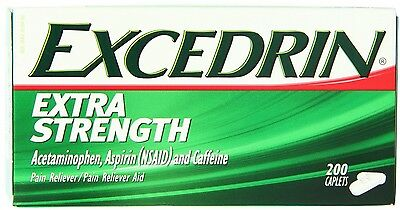 Excedrin Extra Strength 200ct -Expiration Date 03-2019-