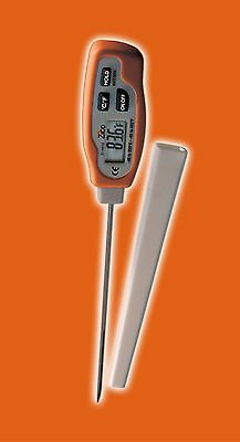 Waterproof Digital Pen-Style Thermometer for Cooking Food Meat Kitchen BBQ Milk
